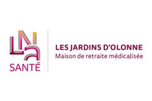 Logo Jardins d'Olonne maison de retraite
